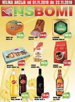 NS Bomi katalog