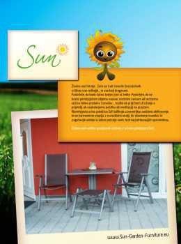 Sun katalog - vrtno pohištvo