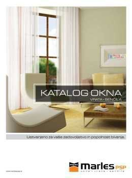 Marles katalog - okna in senčila