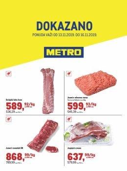 Metro letak