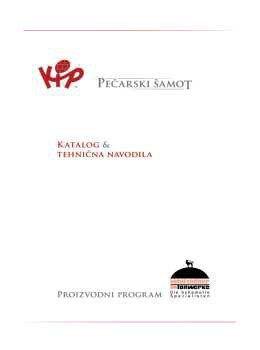 KIP Dimniški inženiring katalog