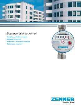 Zenner katalog - stanovanjski vodomeri