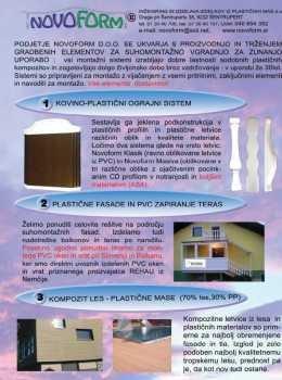 NovoForm katalog - ograjni sistemi
