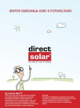 Direct Solar katalog - solarni sistemi