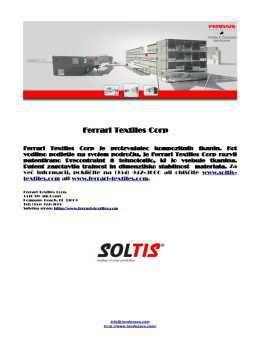 Soltis katalog - tkanina za tende