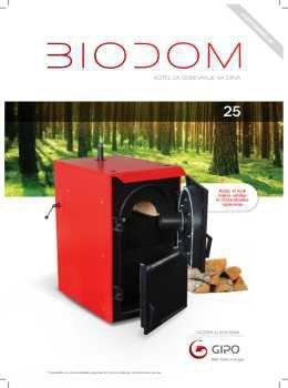 Biodom katalog - kotli na drva