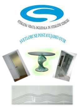 Steklarstvo Omanovič katalog