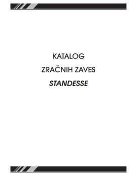 Standesse katalog - Zračne zavese