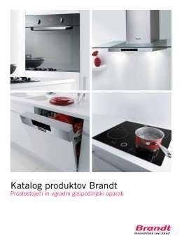 Brandt katalog - Bela tehnika