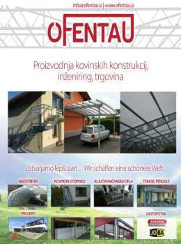 Ofentau katalog - kovinske konstrukcije