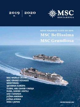 MSC Krstarenja katalog