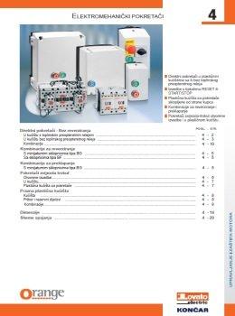Končar katalog