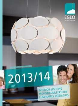 EGLO katalog - notranja svetila