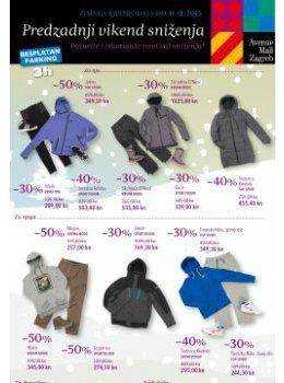 Avenue Mall Zagreb katalog