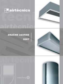 Airtecnics katalog - zračne zavese
