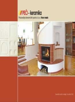 Peči keramika katalog