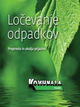 Komunala Tolmin katalog