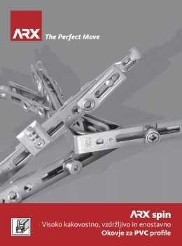 ARX katalog - okovje za PVC profile