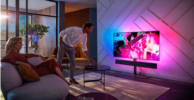 Najboljši domači kino televizor: Philips OLED+ 984