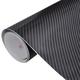 vidaXL Auto pokrov ugljično vinil vlakno 4D crni 152 x 500 cm