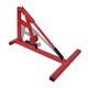 VIDAXL alat za zamjenu gume motora, crveni