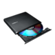 LITEON zunanji zapisovalnik ES1 DVD-RW 8X USB Ultra-Slim, črn