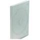 CD/DVD škatlica za 2 CD/DVD-ja, prozorna, 10 kosov