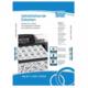 OFFICE TIP TOP samolepljive etikete TTO 048025 (Bele) 48.5 x 25.4 mm, 40, 100, Bela